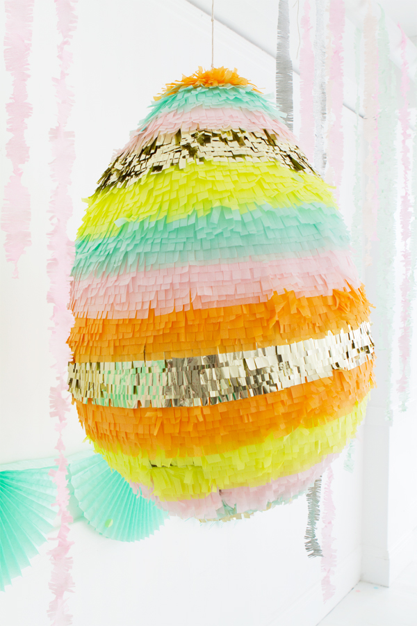 Giant Cascarones Egg Pinata | Oh Happy Day!