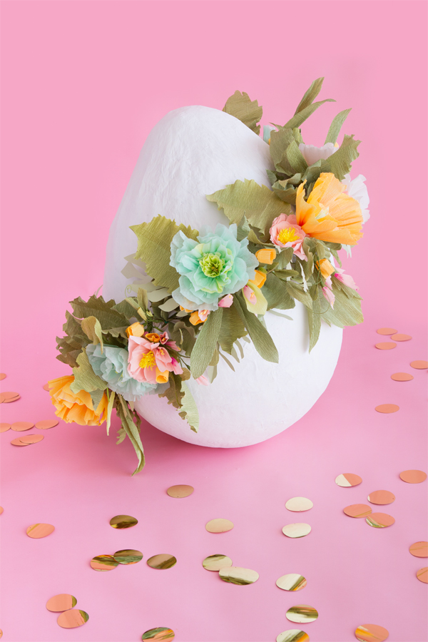 Giant Floral Easter Egg | Oh Happy Day!