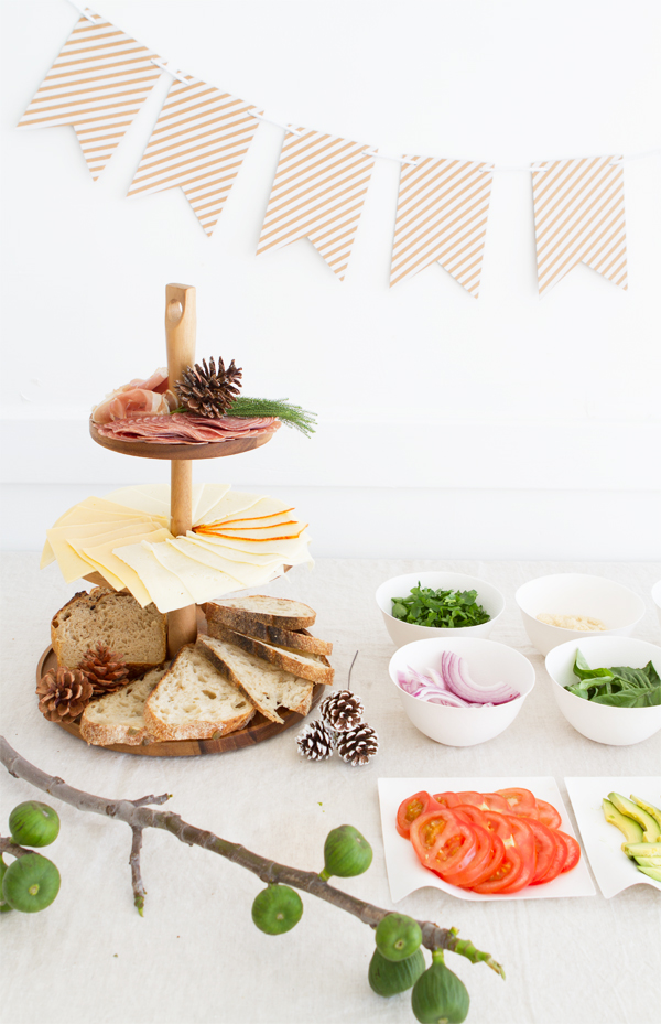 Simple & Modern Grilled Cheese Bar | Oh Happy Day!