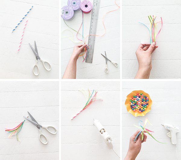 DIY Maypole Cupcake Toppers | Oh Happy Day!