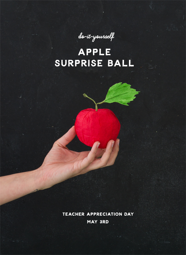 DIY Apple Surprise Ball | Oh Happy Day!
