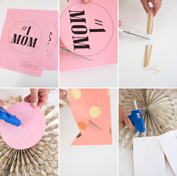 Oversize Mother's Day Awards DIY | Oh Happy Day!