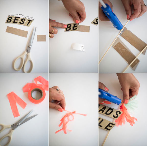 Father's Day Cake Toppers DIY | Oh Happy Day!