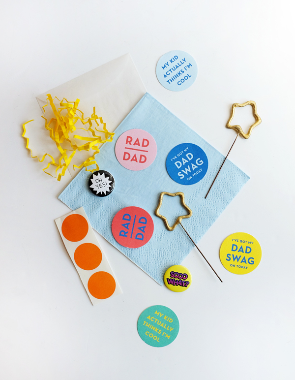 Printable Dad Swag Stickers | Oh Happy Day!