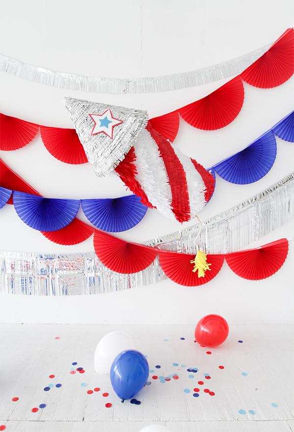Firecracker Pinata DIY | Oh Happy Day!