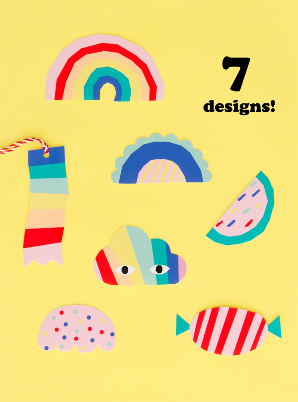 Free Printable Happy Shapes! | Oh Happy Day!