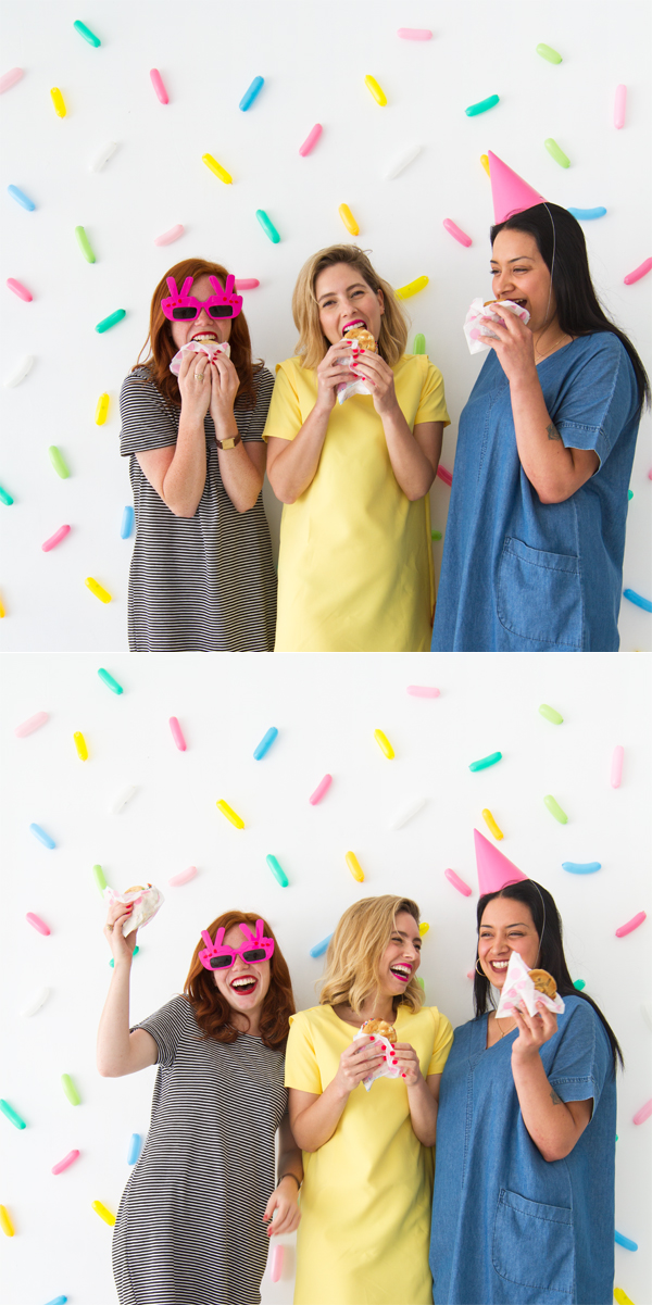 Sprinkle Balloon Backdrop DIY | Oh Happy Day!