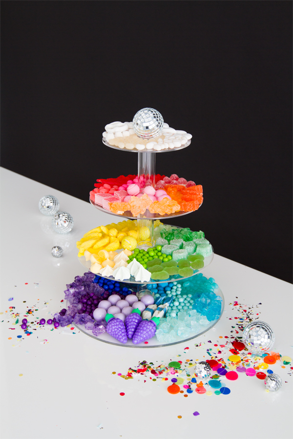 Candy Rainbow Platters 3 Ways | Oh Happy Day!