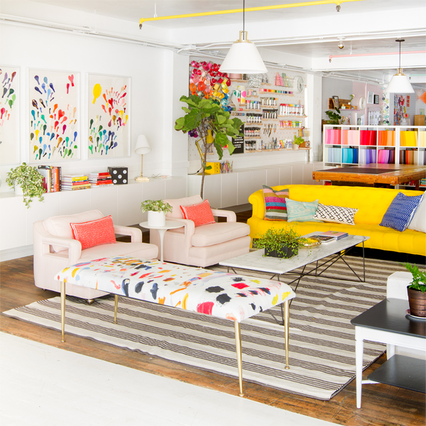 Living Room Designs Funny Colorful Living Room Decorating: Oh Happy Day Studio Tour: Living Room
