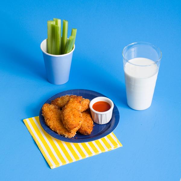 Buffalo Chicken Strips Recipe | Oh Happy Day!