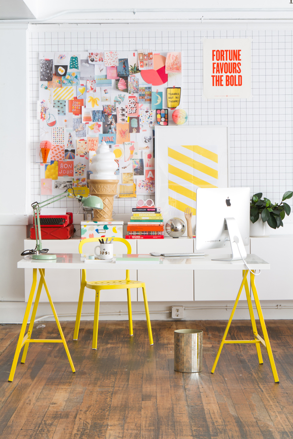 Oh Happy Day Studio Tour: One Desk 4 Ways