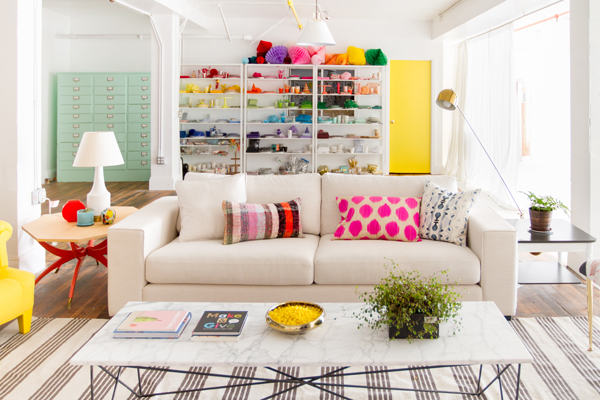 Oh Happy Day Studio Tour: Living Room
