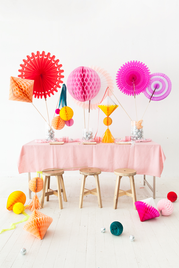 Honeycomb Centerpiece   Oh Happy Day!