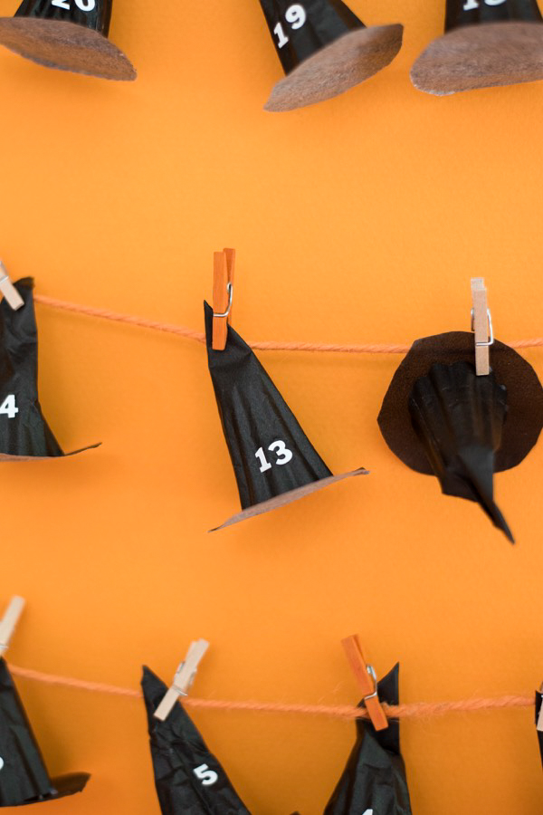 Halloween Countdown Calendar DIY | Oh Happy Day!