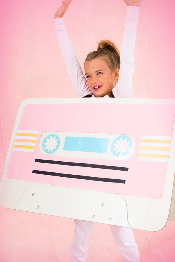 Cassette Tape Costume   Oh Happy Day!