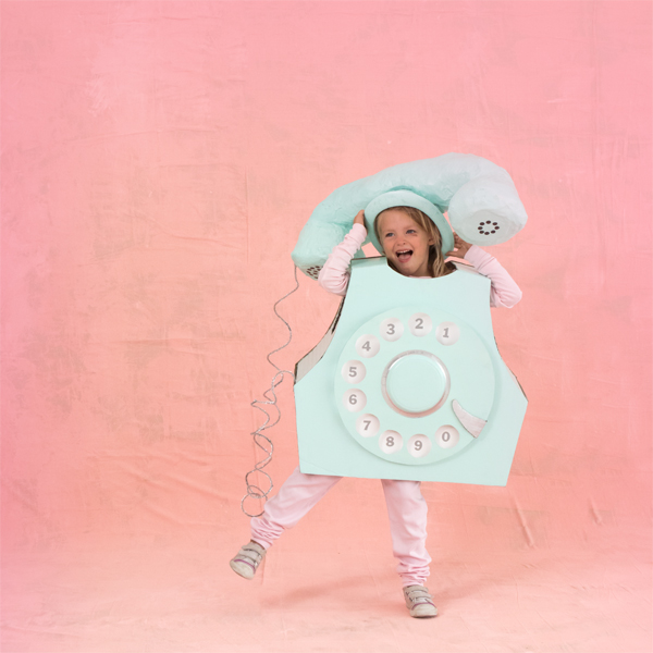 Rotary Phone Costume | Oh Happy Day!