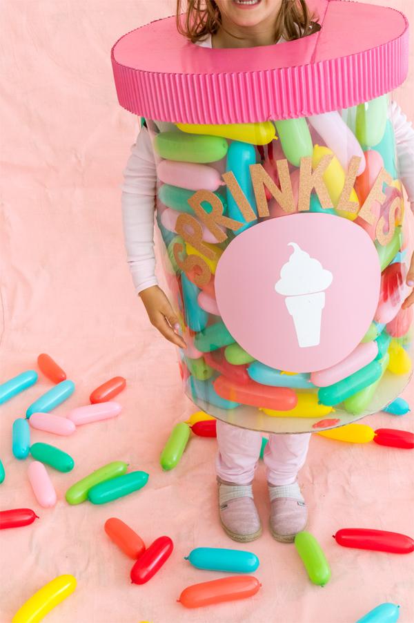 Jar of Sprinkles Costume | Oh Happy Day!
