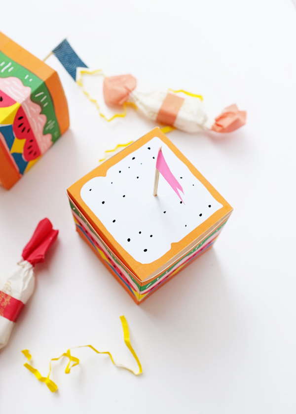 Printable Sandwich Treat Boxes | Oh Happy Day!