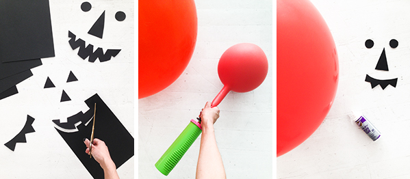 Giant Jack O Lantern Balloons   Oh Happy Day!