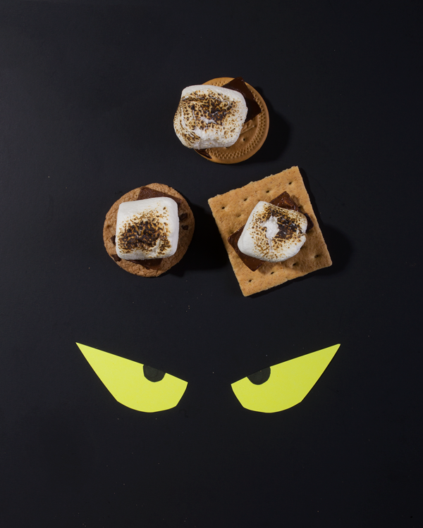 Halloween Candy S'mores Bar | Oh Happy Day!