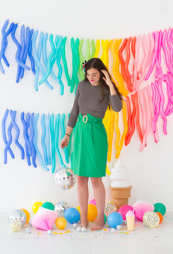 Zig Zag Balloon Garland | Oh Happy Day!
