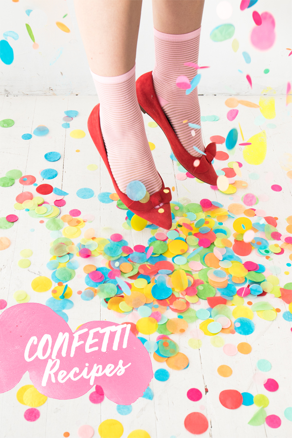Confetti Recipes | Oh Happy Day!