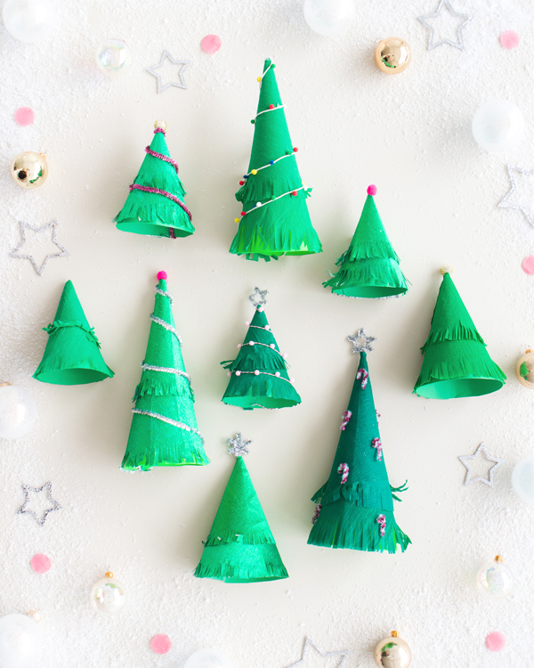 Christmas Tree Party Hats | Oh Happy Day!