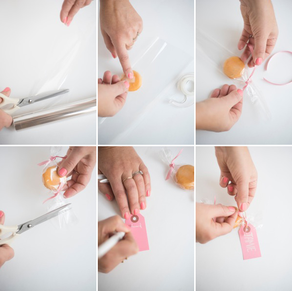 """Macaron """"Candy"""" Favors 