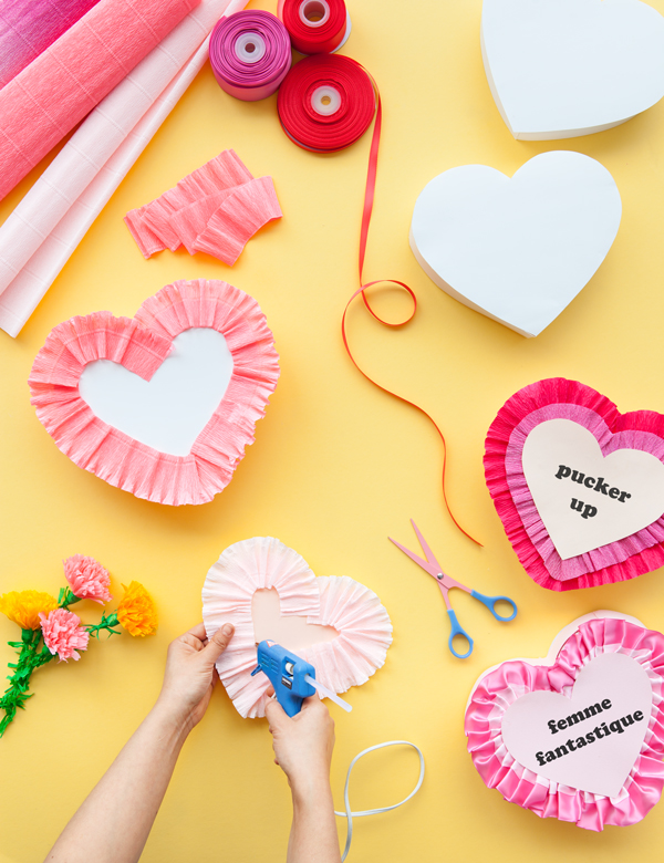 Vintage Valentines Heart Boxes | Oh Happy Day!