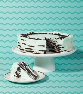 Grasshopper Icebox Cake | Oh Happy Day!