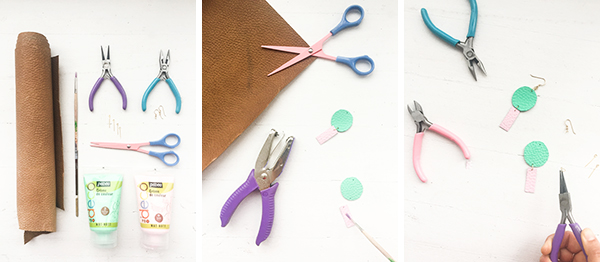 DIY Statement Earrings Part II | Oh Happy Day!