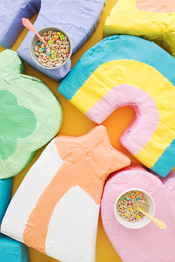 Lucky Charm Pinatas | Oh Happy Day!