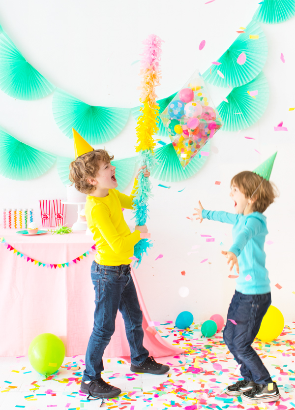 DIY Clear Pinata | Oh Happy Day!