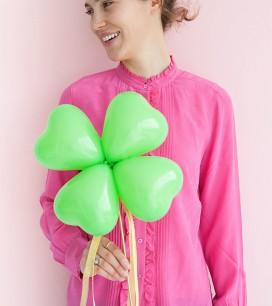 Clover Balloon Sticks DIY | Oh Happy Day!