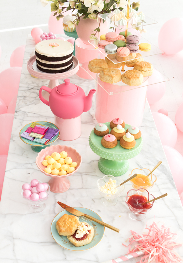Pretty Pastel Tea Party | Oh Happy Day!