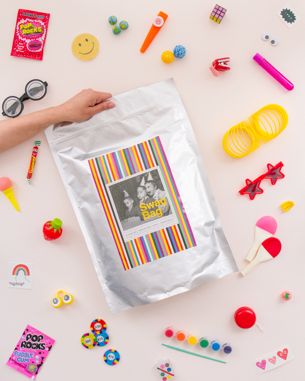 Announcing Supersonic Favor Kits   Oh Happy Day!