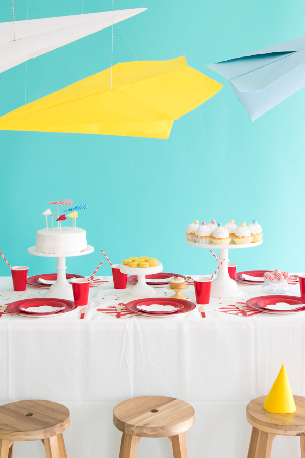 Paper Airplane Party | Oh Happy Day!