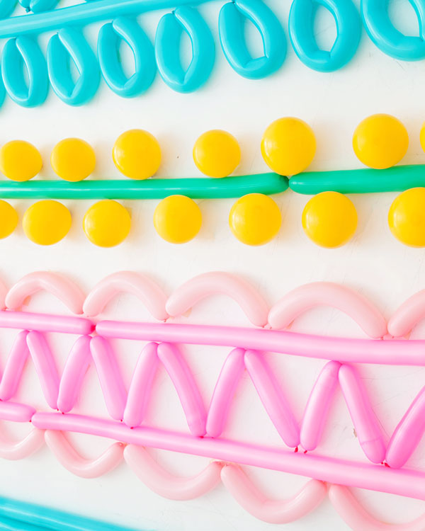 Easter Egg Balloon Backdrop | Oh Happy Day!