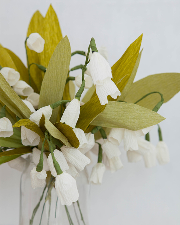 Paper Lily of the Valley | Oh Happy Day!