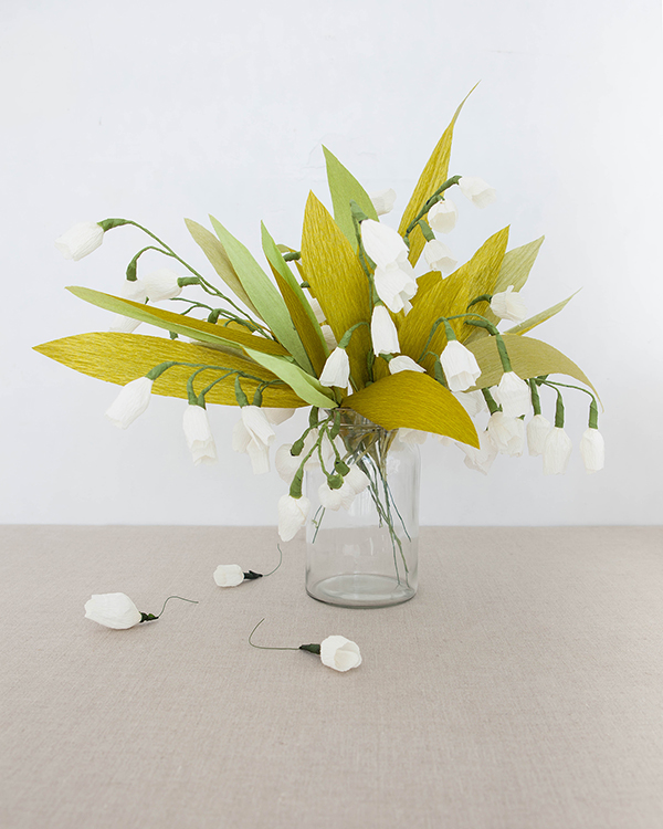Paper Lily of the Valley DIY | Oh Happy Day!