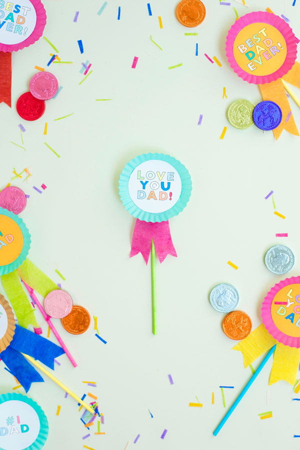 Father's Day Cupcake Toppers | Oh Happy Day!