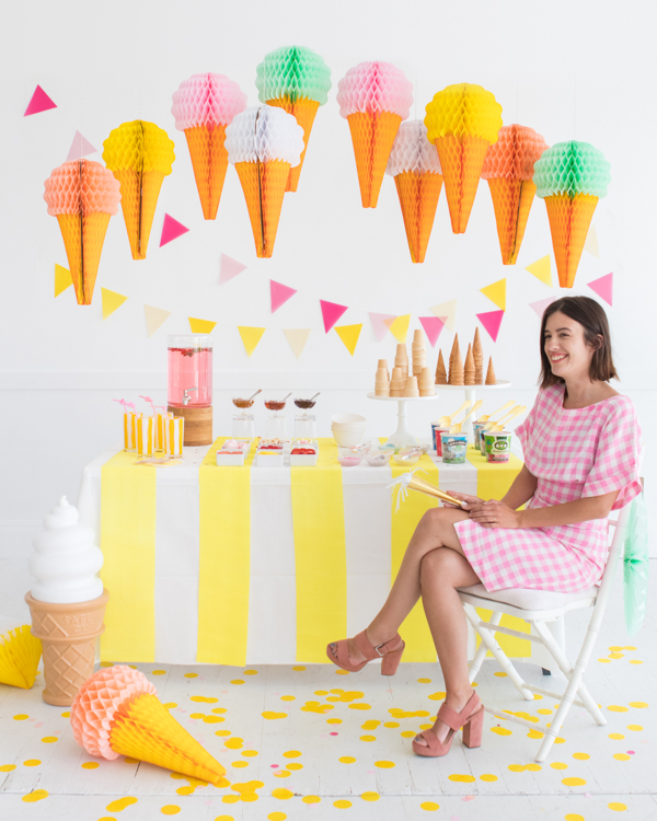 Ice Cream Cone Party | Oh Happy Day!