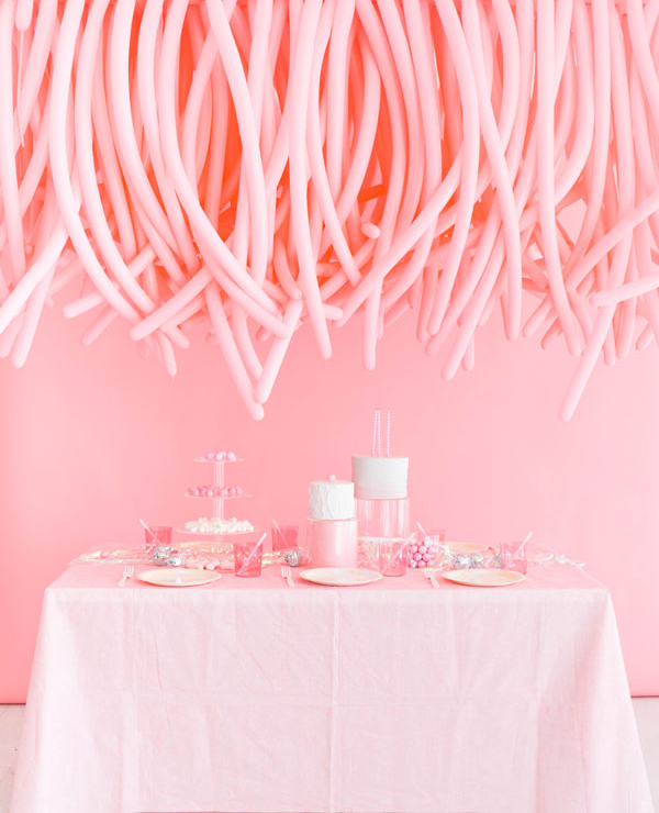 Hanging Balloon Installation | Oh Happy Day!