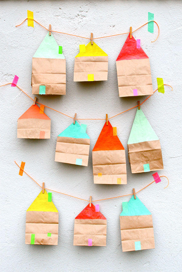 Three Ways Paper Bag Party Ideas