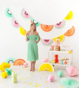 Fruit Wedge Bunting |Oh Happy Day!