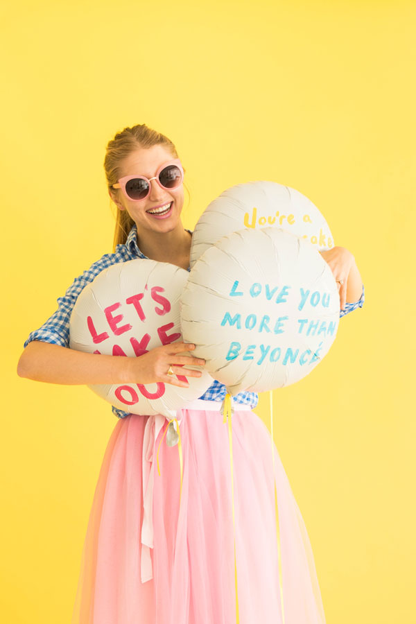 Hand Painted Balloons | Oh Happy Day!