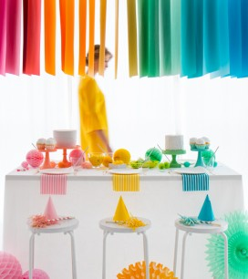 Hanging Paper Installation