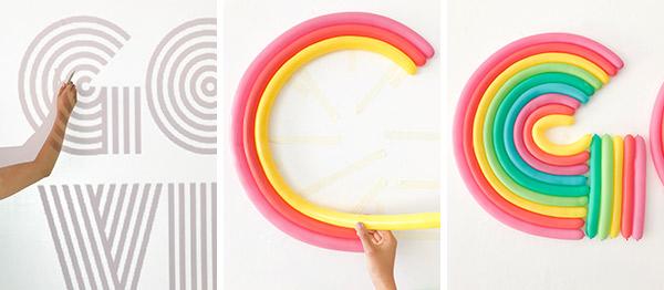 Retro_Rainbow_Balloon_Lettering