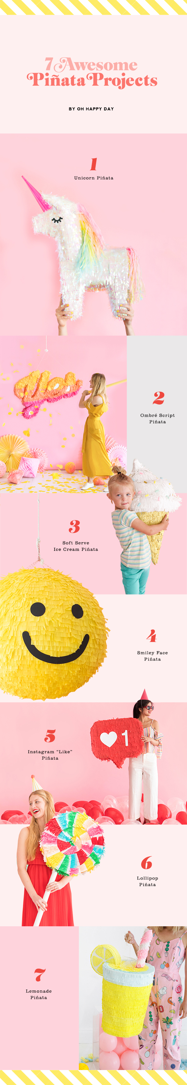 7 Awesome Pinata Projects | Oh Happy Day! | Bloglovin'