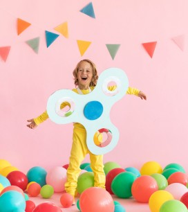 Fidget Spinner Costume | Oh Happy Day!